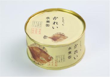 どんちっちかれい水煮缶